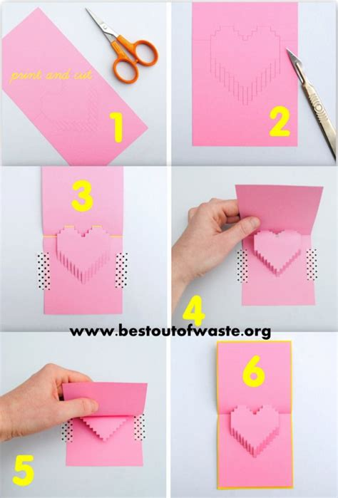 how to make a pop up valentines card 5 diy ideas for on s day 171 showcase