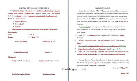 membuat kata pengantar laporan pkl contoh laporan prakerin smk jurusan tkj carablogit