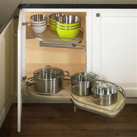 LeMans II Kitchen Blind Base Corner Organizers by Hafele