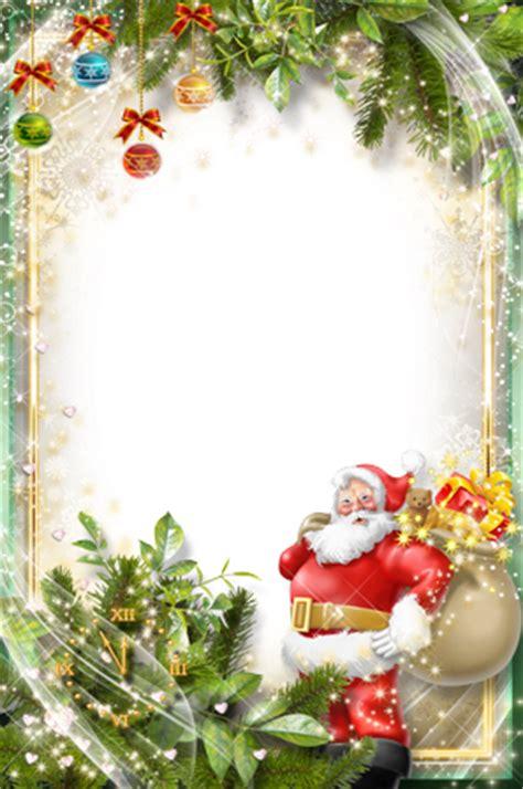 photo frames happy santa