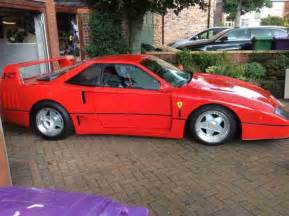 F40 Replica Kit For Sale F40 Size Replica Kit Car Car For Sale