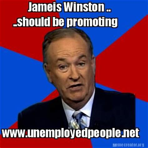 Jameis Winston Memes - meme creator jameis winston should be promoting www unemployedpeople net meme generator