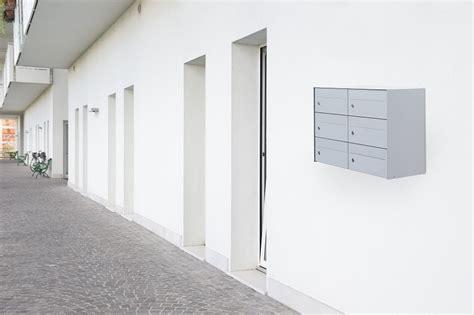 cassette postali per condomini casellari postali condominiali linea square silmec