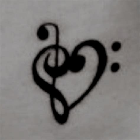 heart with music notes tattoo designs note want just not sure where tattoos