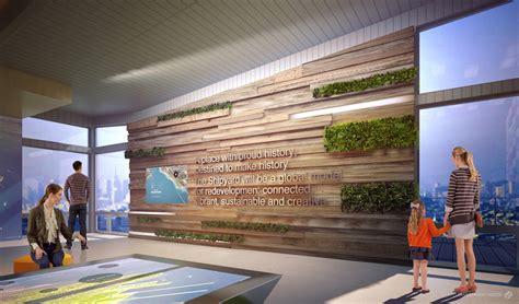 Center Interior Design by Gradient Matter Shipyard Sf Welcome Center Interior Design