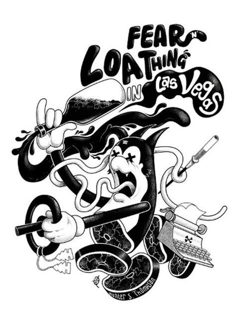 Fear N Loathing In Las Vegas (Book Cover by Trou) A2