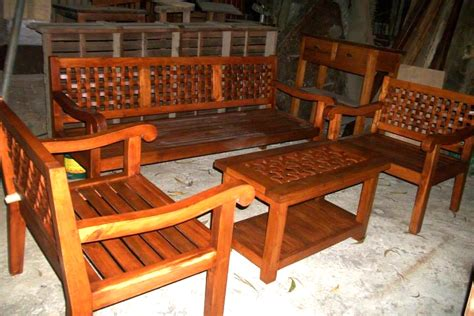 house furniture design in philippines wooden salaset