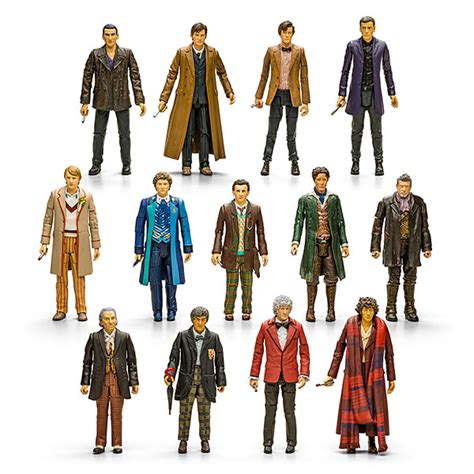 Doctor Set doctor who 13 doctors figure set