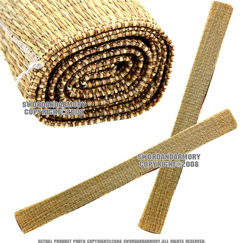 Japanese Straw Mats by 12 Pcs Wara Straw Mats For Tameshigiri Handmade Sharp