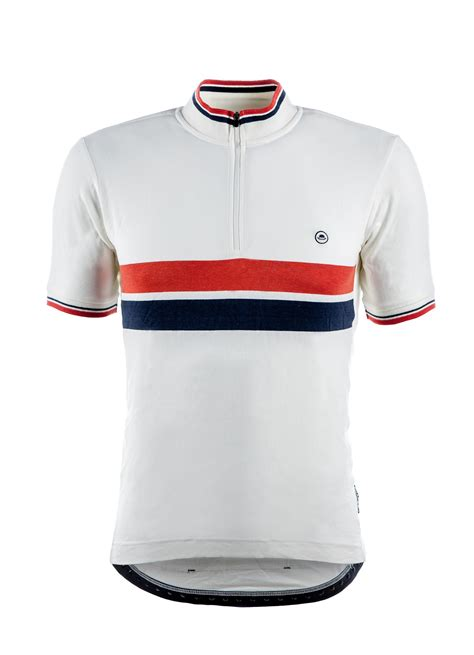Jersey Sepeda Chapeau Cafe Jersey White Chest Stripe clothing chapeau cafe sleeve jersey the bike shed