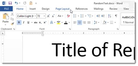 javascript tab layout how to omit the page number from the first page of a word