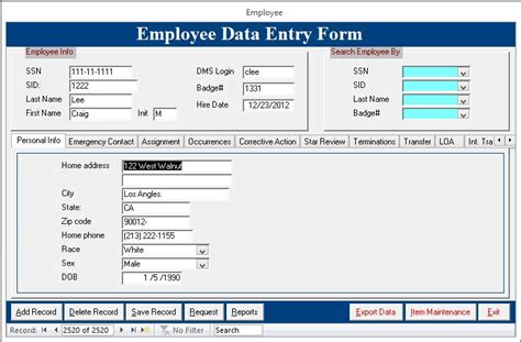 Microsoft Access Template For Employee Database Tire Driveeasy Co Microsoft Access Template For Employee Database