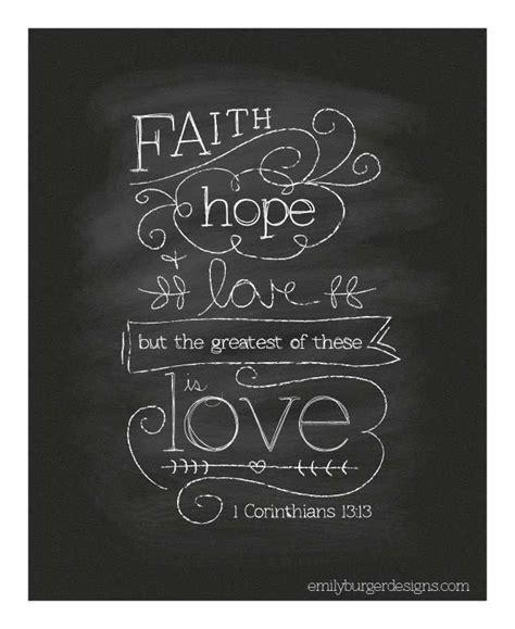 Chalkboard Love And Hope Anchors - the 25 best faith hope love ideas on pinterest hope