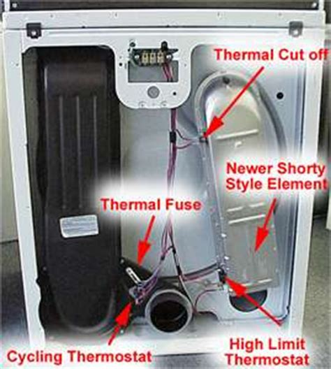 Hair Dryer Heating Element Voltage does the kenmore series 700 dryer use circuit solved fixya