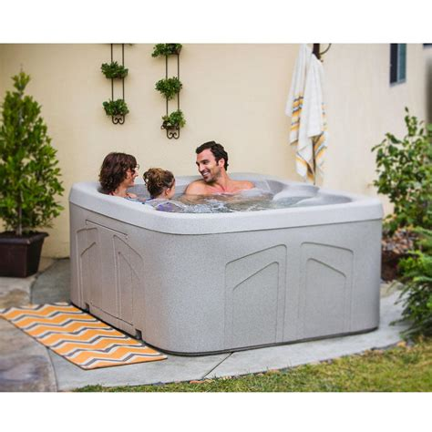 Tub Voltage Lifesmart Bermuda Dlx 4 Person And Play Spa With