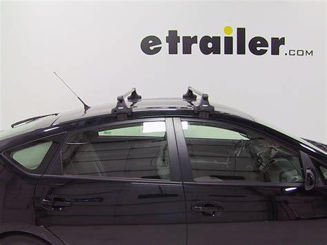 Thule Roof Rack Prius by Thule Roof Rack For Toyota Prius 2007 Etrailer