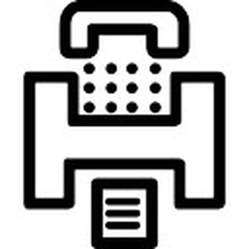 fax ufficio ufficio simbolo fax scaricare icone gratis