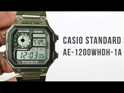 Casio Illuminator Ae 1200whd 1avdf ae 1200whd 1avef