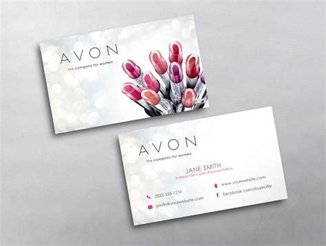 avon calling card templates avon business card 09