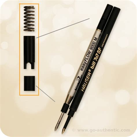 pic non refill ceramic convert your rollerball to a ballpoint pen