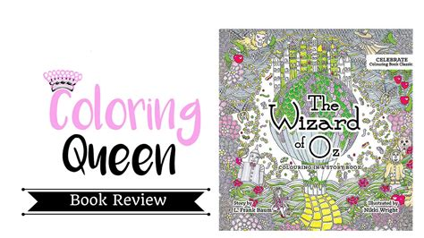 the wizard of oz book report wizard of oz coloring book review illustrated by