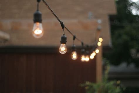 Edison Bulb Patio String Lights Edison Bulb String Lights Wedding Inspiration By Leanne Curtis Lighting String