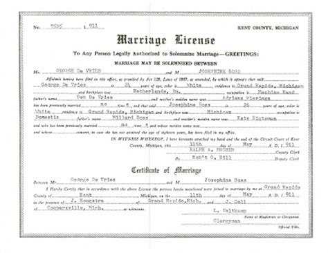 Marriage License Records Idaho Marriage License