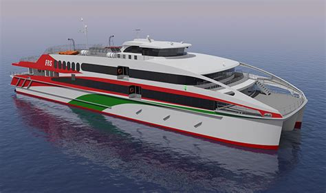catamaran jet engine new helgoland catamaran to get mtu engines and kamewa