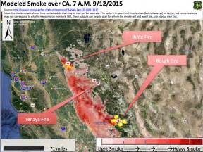 california smoke information friday september 11 2015
