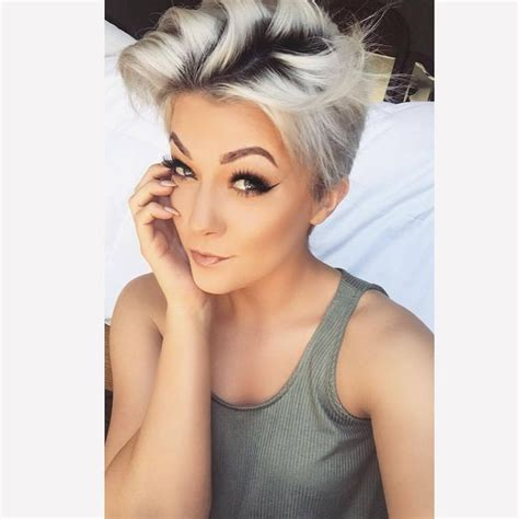 short platinum hairstyles for women 100 best short hairstyles images on pinterest hairdos