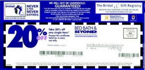 Printable Coupon For Bed Bath And Beyond Bed Bath And Beyond Coupons And Printable Coupons Bed