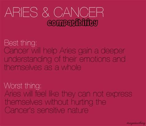 aries cancer astrology pinterest posts aries