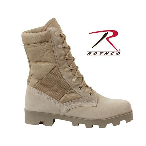 rothco boots rothco gi type speedlace desert jungle boot