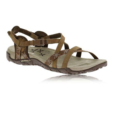 vibram sandals merrell terran lattice womens brown vibram walking sandals