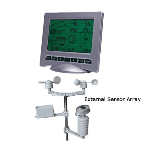 deluxe usb wireless home weather station uv meter