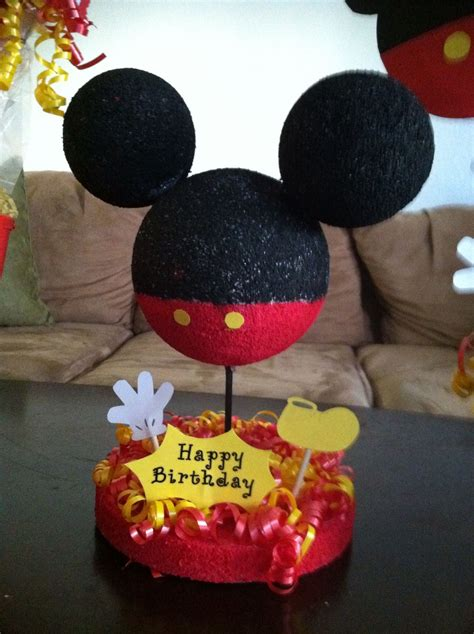 Centerpiece Mickey 1st Birthday 289566 mickey mouse centerpieces for 1st birthday creative