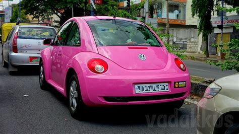 volkswagen cer pink a pink volkswagen beetle in bangalore fottams