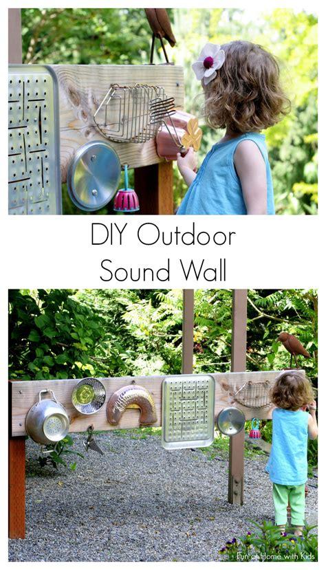 backyard sounds backyard design diy outdoor sound wall music station