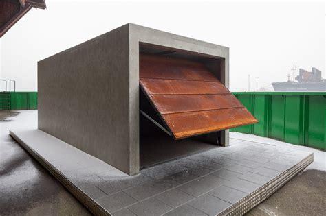 garagen beton beton brut a prefabricated concrete garage for your car