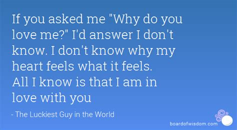 Why Me Why Us by If You Asked Me Quot Why Do You Me Quot I D Answer I Don T