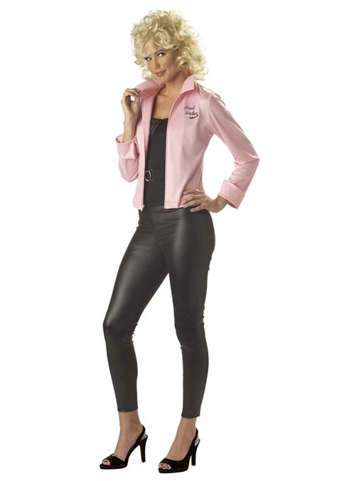 Costume Jacket pink grease jacket costumes