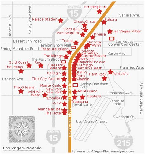 map las vegas map of las vegas