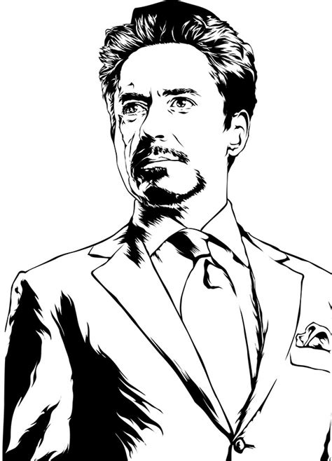 tony stark is ironman on pantone canvas gallery