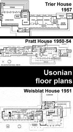 david and christine weisblat house plan 1951 frank lloy jacobs house frank lloyd wright google search frank