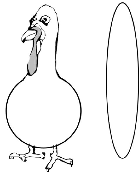 turkey template printable turkey in disguise coloring pages
