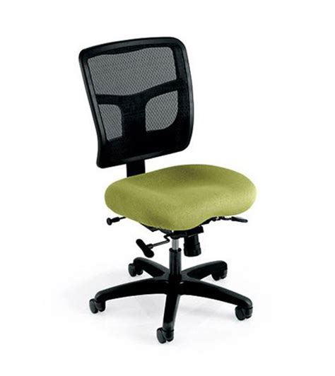 yes series task chair with mesh back memory foam seat by