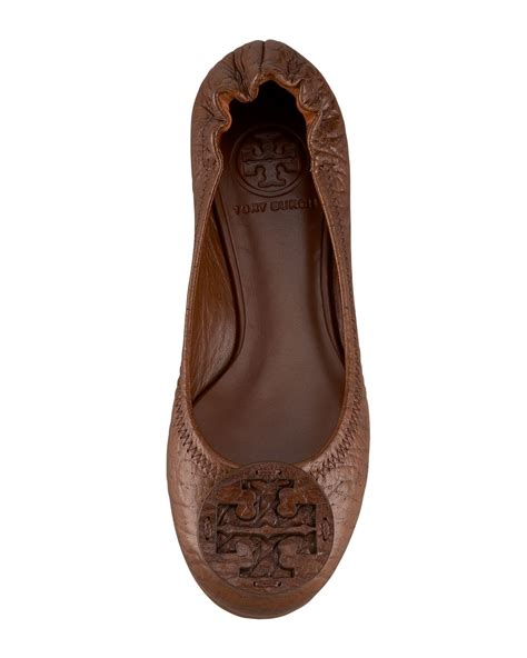 Casey Ballerina Flat 4 by Lyst Burch Reva Figueira Ballerina Flat In Brown