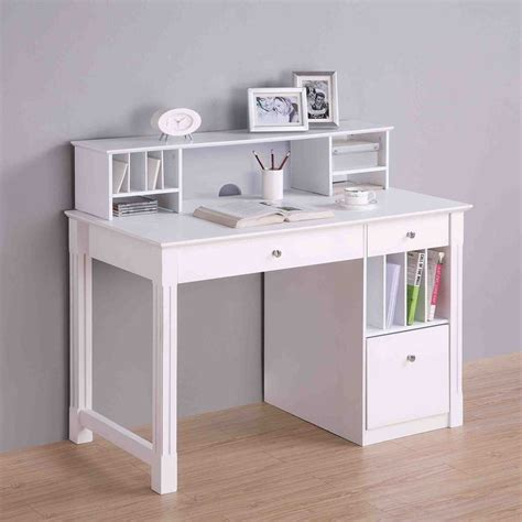 study desk with drawers office small white desk with drawers white