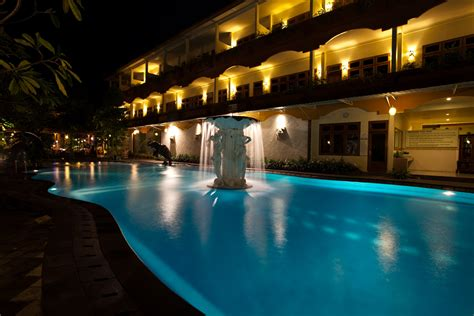 pool at night swimming pool exterior febri s hotel spa bali