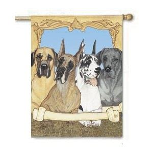 great dane dog houses great dane canvas house flag dogs pinterest great danes flags and dog art